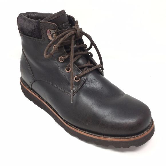 a5a26276f6d Men's Ugg Australia Seton Waterproof Boots Sz 8M